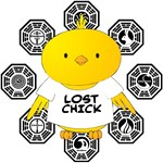 Lost Chick - Dharma Logos