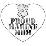 Proud Marine Mom - Dog Tags