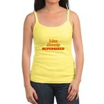 I Am Already Supersized T-Shirts & Gifts Jr. Spaghetti Tank