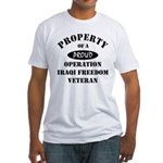 Property of Proud OIF Veteran Fitted T-Shirt