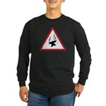 Heavy Precipitation Long Sleeve Dark T-Shirt