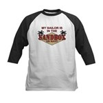 Sailor Sandbox US Navy Milita Kids Baseball Jersey