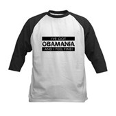 I've Got Obamania! Kids Baseball Jersey