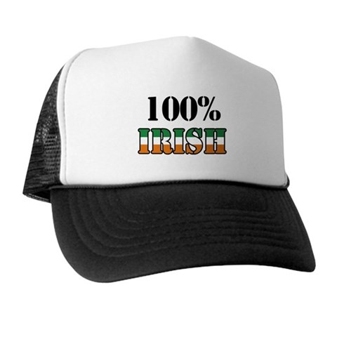 100 Percent Irish Trucker Hat