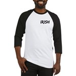 Irish Handwriting Baseball Jersey