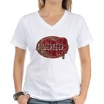Urban Grunge Jaded Women's V-Neck T-Shirt