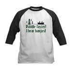 Paddle faster, I hear banjos Kids Baseball Jersey