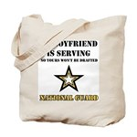 National Guard - My Boyfriend Tote Bag