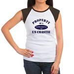 Property of US Coastie Women's Cap Sleeve T-Shirt