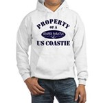 Property of US Coastie Hooded Sweatshirt