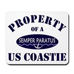 Property of US Coastie Mousepad