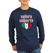 Senora Colberto Long Sleeve Dark T-Shirt
