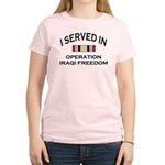 I served OIF medal Women's Light T-Shirt