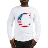 C stands for Colbert Long Sleeve T-Shirt