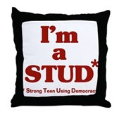I'm a STUD* Throw Pillow