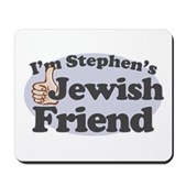 You might be going to hell, but that shouldn't stop you from being Stephen Colbert's friend. If you're Jewish and a member of the Colbert Nation, you need this! I'm Stephen's Jewish Friend!