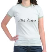 Mrs. Colbert Jr. Ringer T-Shirt
