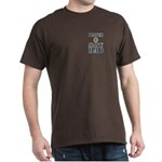 Proud Navy Dad Military Dark T-Shirt
