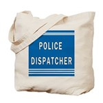 Police Dispatcher Blues Tote Bag