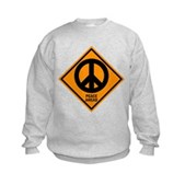 Peace Ahead Kids Sweatshirt
