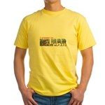 I Summer In Belmar Yellow T-Shirt