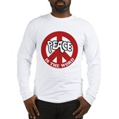 Peace is the word Long Sleeve T-Shirt