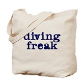 Diving Freak Tote Bag