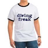 Diving Freak Ringer T