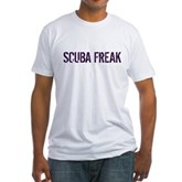 Scuba Freak Fitted T-Shirt