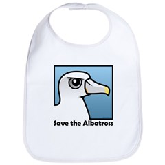 Save the Albatross (close-up) Bib