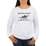 Watch Out! Military Uncle M-4 Women's Long Sleeve