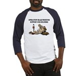 OIF Support our Soldiers Baseball Jersey