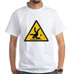 Warning: Clumsy! White T-Shirt