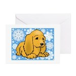 Holiday Cocker Spaniel Christmas Cards