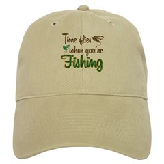 Time Flies When You're Fishing Cap