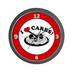 I Love Carbs! Wall Clock
