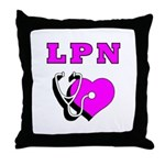 LPN Care Throw Pillow