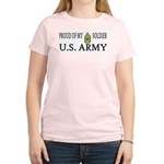 1SG - Proud of my soldier Women's Pink T-Shirt