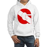 Scuba Flag Letter G Hooded Sweatshirt