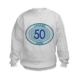 50 Logged Dives Kids Sweatshirt