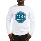 100 Dives Milestone Long Sleeve T-Shirt