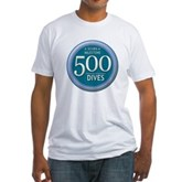 500 Dives Milestone Fitted T-Shirt