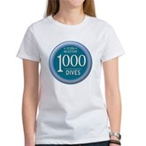 1000 Dives Milestone Women's T-Shirt