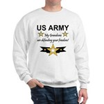 US Army Grandsons Defending Sweatshirt