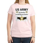 US Army Grandsons Defending Women's Light T-Shirt