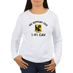 1-91 Cavalry Women's Long Sleeve T-Shirt