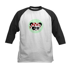 Pirate Panda Kids Baseball Jersey