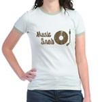 Music Snob Jr. Ringer T-Shirt