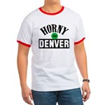 Horny in Denver Ringer T