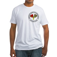 Part of my Heart - Afghanistan Fitted T-Shirt